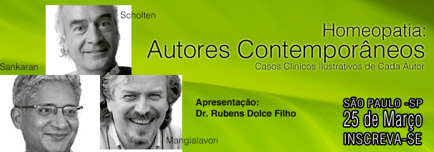 Curso Homeopatia: autores contemporâneos